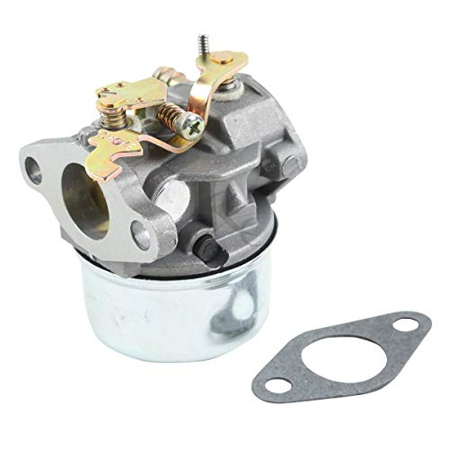 (XFMT CARBURETOR Compatible with Tecumseh 640340 OH195EA OH195EP OH195XA OH195XP OH195 OHH50 OHH55 OHH60 Engines Carb Replaces TECUMSEH Part #: 640340/640306A/640222A/640060A)