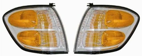 Toyota Sequoia/Tundra Replacement Corner Light Assembly - 1-Pair AutoLightsBulbs