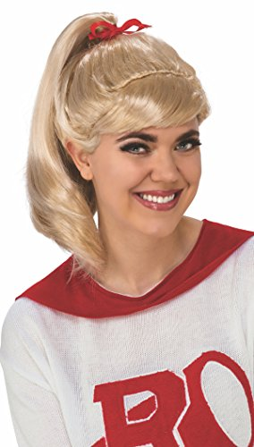 Cheerleader From Grease (Rubie's Costume Adult Grease Sandy Wig, Good)