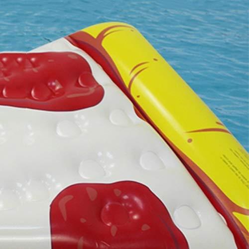 Amazon.com: Amgker - Cama flotante de PVC con superficie de ...