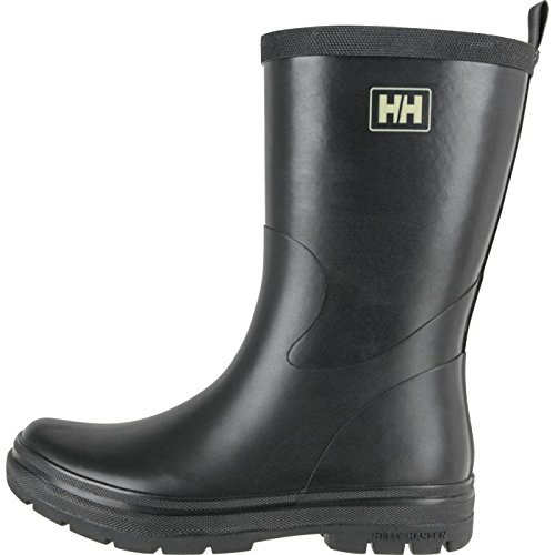W Midsund 2 Rain Boot, Black/Natural/Shiny, 10 D US ()