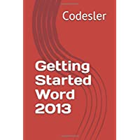 Getting Started Word 2013