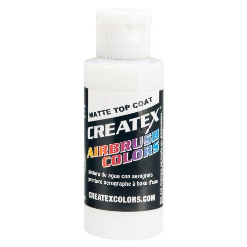 (Createx Airbrush Paint, Matte Top Coat, 2 oz (5603-02))