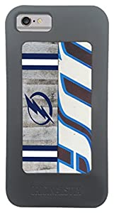 NHL Tampa Bay Lightning Recycled Hockey Stick iPhone 6/6s Case, Black