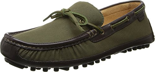 Cole Haan Men's Grant Canoe Camp Moc Dark Spruce/Java Loafer 9.5 D (M)