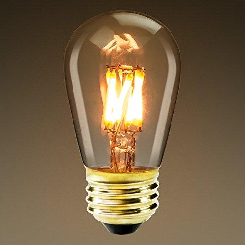 Edison Mills S14 Antique Led Filament Vintage Light Bulb