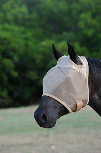 Cashel Econo Standard Horse Fly Mask, Size: Arab, Horse, Warmblood, or Yearling Style: No Ears or Nose or with Ears