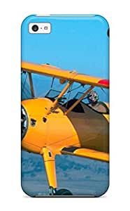 Durable Defender Case For Iphone 5c Tpu Cover(aircraft1)