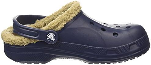 Baya Lined, Unisex Adulto Zueco, Azul (Navy/Khaki), 41-42 EU Crocs