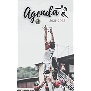 Agenda 2021 2022: Rugby | Rentrée scolaire septembre 2021 | Cahier de texte 4