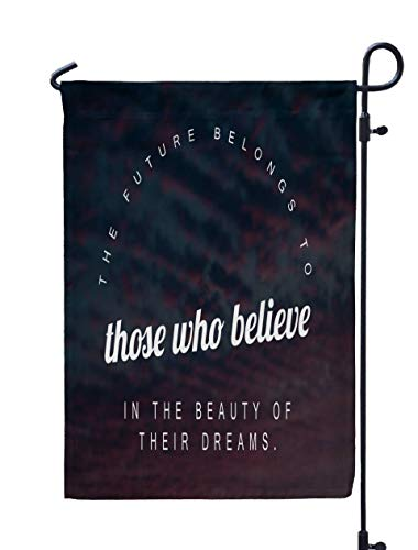 Shorping Easter Garden Flag, 12x18Inch Best Inspirational and Motivational Saying About Life Wisdom for Holiday and Seasonal Double-Sided Printing Yards Flags -