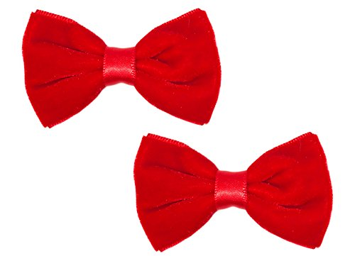 Velvet Bow Red - Anna Belen Girls
