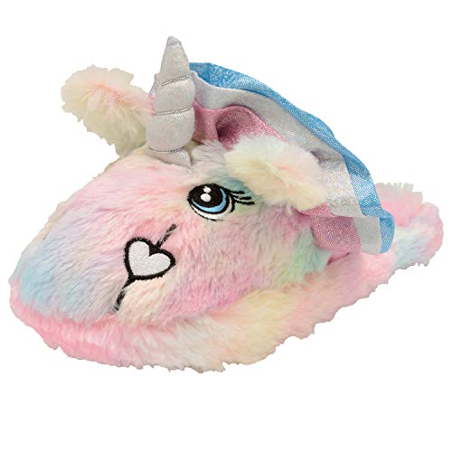 Loungeable Unicorn Donna Rainbow Pantofole 3d Animal Novità ZqqwTH