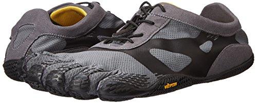 Vibram Men's KSO EVO Cross Training Shoe,Grey/Black,41 EU/8.5-9.0 M US by Vibram (Image #6)
