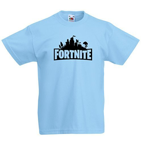 Naughtees fortnite Logo Enfants t-Shirt. Ready for Battle Royale ?