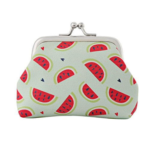 Women Lady Fashion Vintage Leather Small Wallet Hasp Card HolderPurse...