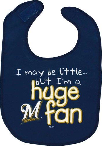 WinCraft Milwaukee Brewers M Logo Huge Fan Baby Bib