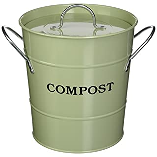 Exaco Trading Co. CPBG 01 Exaco 2-in-1 Indoor Compost Bucket, 1 Gallon, Green