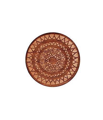 Mandaya Shield Wooden Pin