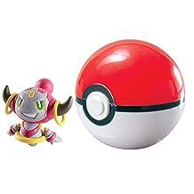 TOMY T19100 Pokémon Clip 'n' Carry Poké Ball, Hoopa & Poké Ball