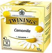 Twinings Chá de Camomila 10 g (pacote de 10 saquinhos)