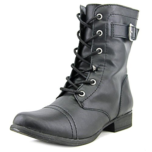 American Rag Womens Faylln Closed Toe Ankle Combat Boots, Black, Size 7.0 from American Rag