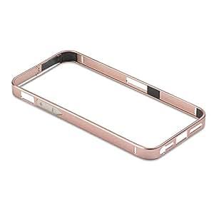 PanzerGlass Alu30 - Funda tipo borde para Apple iPhone 4/4s, rosa
