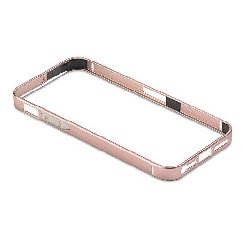 PanzerGlass ALU30 telaio in alluminio per Apple iPhone 4/4S, colore: rosa