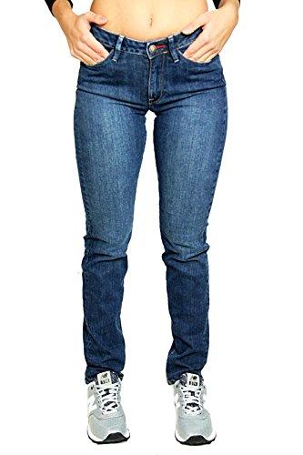 Jeans Slim Blu Narissa Rifle Donna Zq15wE