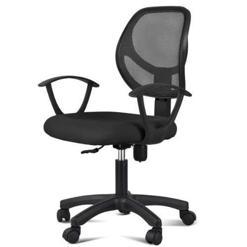Free Yaheetech Ergonomic Mesh Computer Office Desk Task Midback Task Chair