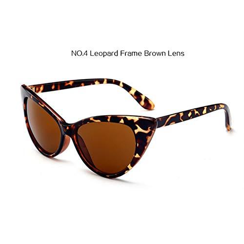nbsp; Transparent Cadre Soleil Gjyanjing nbsp; Femmes Eye Leopard De Cat Lunettes Rouge Cateye Uv400 nbsp;vintage qvvAwfPx0r