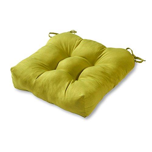 Greendale Home Fashions 20 Inch Indoor/Outdoor Chair Cushion, Kiwi