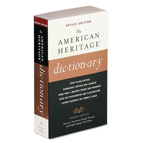 HOUGHTON MIFFLIN American Heritage Office Edition Diction...