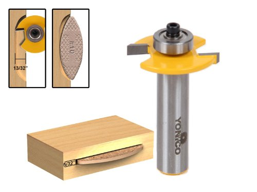 Plate Jointer Biscuit (Yonico 14183 Number 10 Biscuit Joint Slot Cutter Jointing/Slotting Router Bit 1/2-Inch Shank)