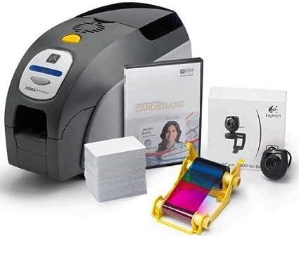 Zebra ZXP3 impresora de tarjeta plástica Pintar por sublimación ...