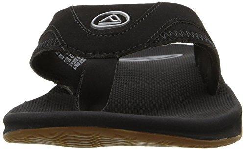 Reef Men's Fanning Sandals Black (Schwarz (Black (Black/Silver)) footlocker finishline sale online discount latest best place cheap online cheap fashion Style YmoOMc6WF