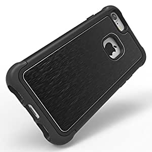 wholesale dealer 0fb19 9ee46 Ballistic TO1718-A78N Tungsten Tough Case for Apple iPhone 8/7/6s/6 - Black