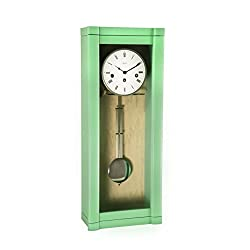 Qwirly Hermle ROSSLYN Regulator Wall Clock with 8-Day Westminster Chime, 70963-TL0341 Close Out