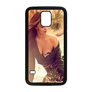 Samsung Galaxy S5 Phone Case Black Hd Miranda Kerr Sweet Model Sexy Celebrity IR5Y2XCW Cell Phone Covers And Cases