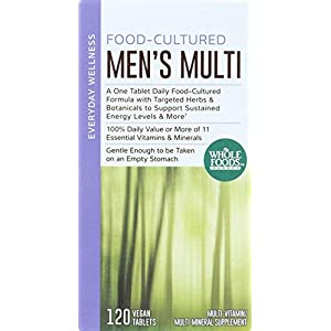 Whole Foods Market, Food-Cultured Men's Multi, 120 ct