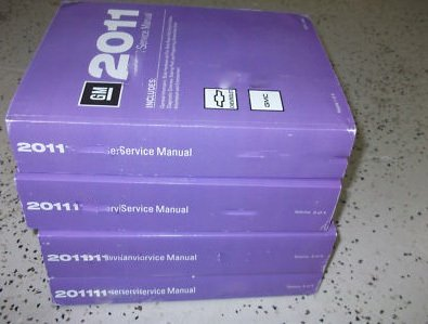 2011 CHEVROLET CHEVY VOLT Service Shop Repair Manual Set OEM 11 FACTORY BOOKS