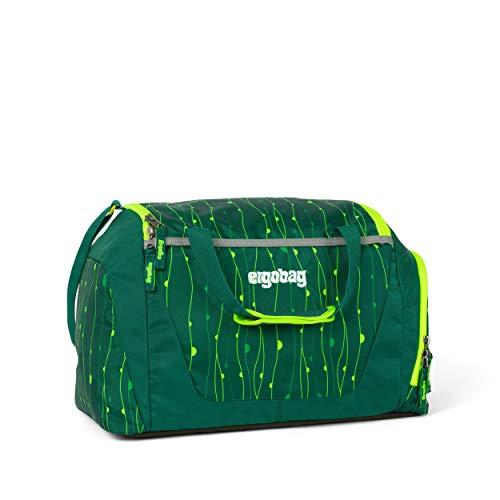 ergobag Sporttasche, wasserdichtes Seitenfach, Tragegriffe und Umhängegurt, 20 Liter, 500 g