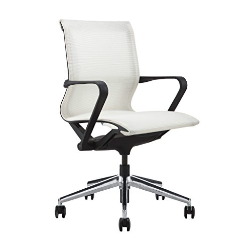 Laura Davidson Empire Mesh Management Chair (White)