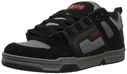 Dvs Mens Comanche Skate Schoen Black Charcoal Leather Nubuck