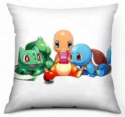 Franela Pokemon Charmander y Bulbasaur y Squirtle imprimen ...