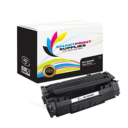 Smart Print Supplies Compatible 49X Q5949X Black High Yield Toner Cartridge Replacement for HP Laserjet 1320 Printers (6,000 Pages) - 2 ()