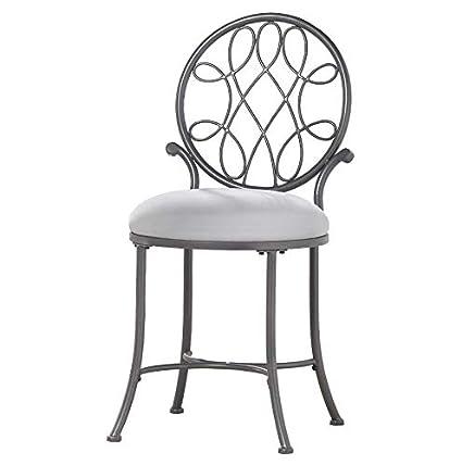 Amazon.com: Bedroom Vanity Stool 20in Seat Height Bathroom ...