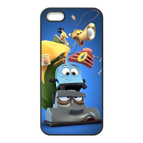 Brave Little Toaster I0X83K2RU coque iPhone 5 5s case coque black LT2MPJ