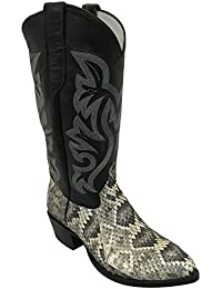 Rattlesnake Pointed Toe Exotic Western Cowboy Boot