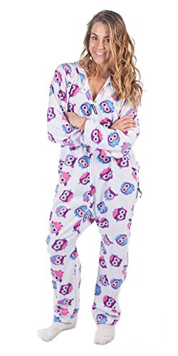 Forever Lazy Adult Onesie - Sleep Owl Day - L]()